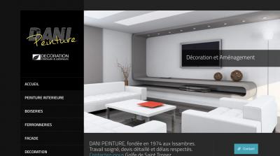 Dani-Peinture - site web réalisé en Wordpress