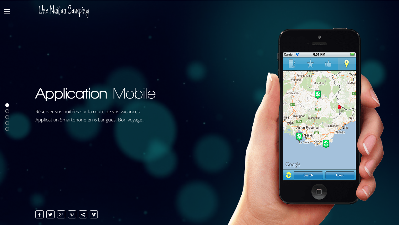 Application Mobile - Karakter